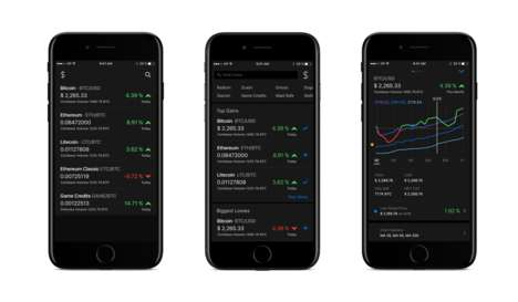 Cryptocurrency Price Trackers - Startup Coindex Helps You Track Cryptocurrencies on iOS Devices