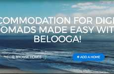 Digital Nomad Rental Housing - Startup Belooga Makes Home Searches For Remote Workers Easier
