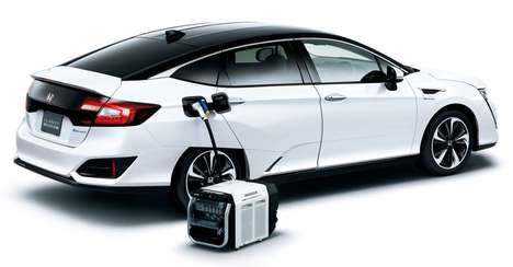 Compact Car Power Banks - The Honda Lib-AID E500 Comes To Your Aid During Power Outages