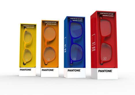 Pantone-Themed Reading Glasses