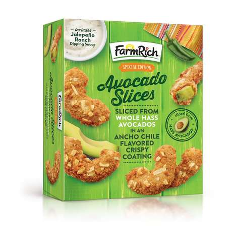 Breaded Avocado Snacks
