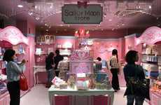Permanent Anime-Branded Stores - The 'Sailor Moon Store' Opened in Tokyo's Shopping District