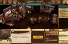 Meta-Adventure Role-Playing Games - 'Epic Tavern' Players Manage the Bars Where Adventures Begin