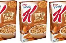 Spiced Autumnal Cereals - The Special K Pumpkin Spice Crunch Cereal Celebrates Fall