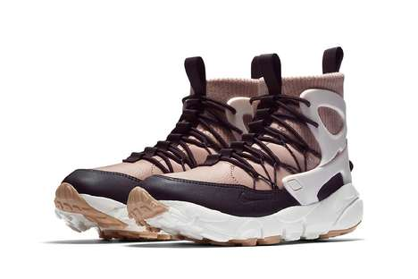 Utilitarian Weather-Resistant Sneakers - Nike's 'Air Footscape Mid Utility' is Function-Focused