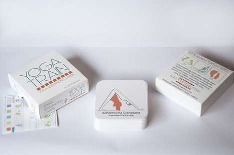 Yoga Sequencing Cards - The Yoga Train Card Set Offers a Simple Way to Understand Yoga