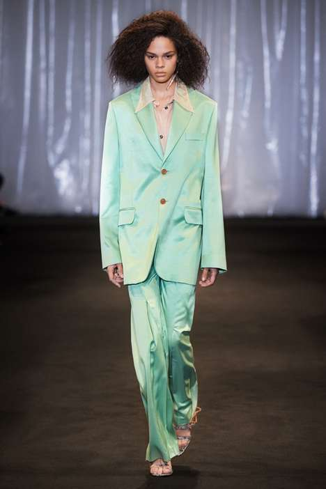 Versatile Pastel Fashion - The New Acne Studios Spring/Summer Collection Boasts Refined Classics