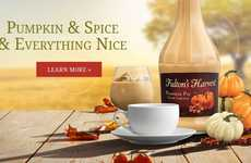 Pumpkin Spice Cream Liqueurs - Fulton's Harvest Pumpkin Pie Cream Liqueur is a Seasonal Drink