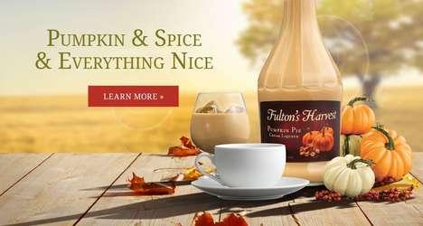 Pumpkin Spice Cream Liqueurs