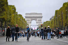 Urban Car-Free Initiatives - Paris' Third Annual Temporary Car Ban Lasted from 11am to 6pm