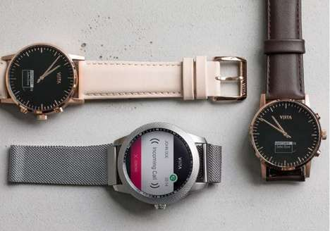 Elegantly Styled Fitness Watches - The VIITA Smartwatch Combines Fitness Tracking with Sleek Design
