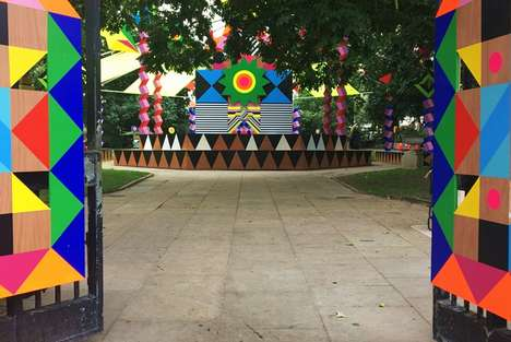 City-Complementing Art Installations - 'Joy and Peace' Brings Color and Happiness to London