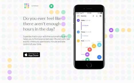 Work-Life Balance Trackers - Superday is an App to Help Users Reduce Stress and Enjoy Life