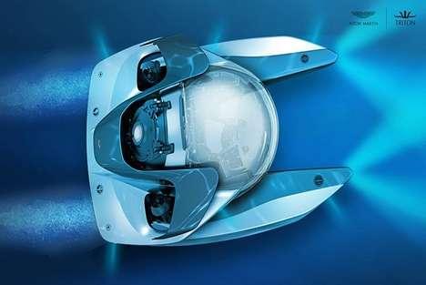 Luxury Auto-Branded Submarines