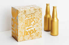 Glitzy Six-Pack Designs