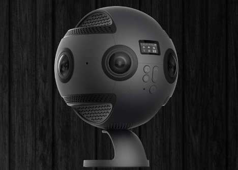 Mapping Software 360-Degree Cameras - The Insta360 Pro is Google Street View-Ready