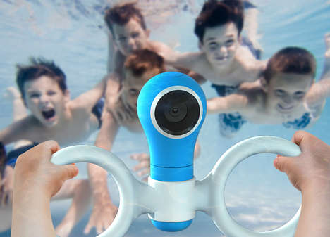 360-Degree Underwater Toy Cameras - The 360° Underwater Toy Action Cam Lets Kids Record Their Swims