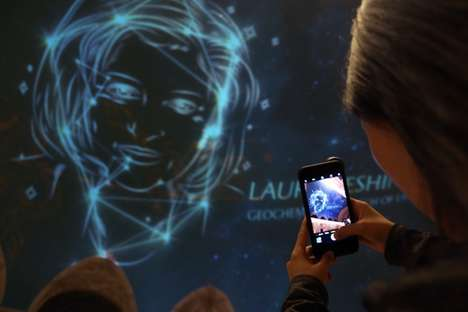 Feminist Constellation Installations - 'Unseen Stars' Turned 12 Scientists into Constellations