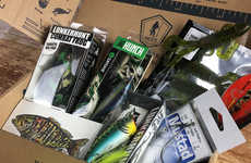 Fisherman Subscription Services - Mystery Tackle Box Delivers Hand-Selected Gear