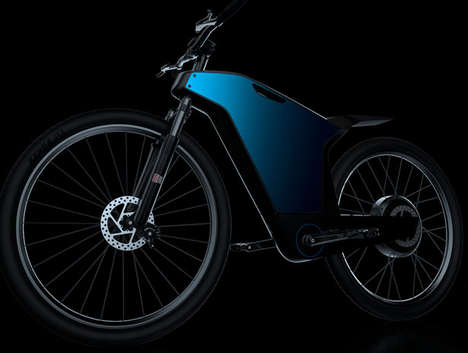 Smartphone-Integrated Electric Bikes - The 'Drais Bike' Has an Enclosed Aluminum Frame