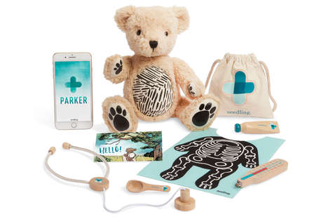 AR-Infused Teddy Bears - Seedling's 'Parker' Teaches Children About Empathy and Problem Solving