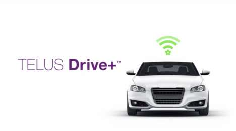 Connected Car Accessories - TELUS Drive+ and Mojio Turns Cars Built After 1996 into Connected Cars
