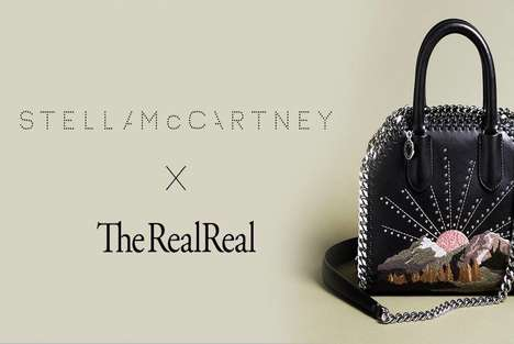 Celebrity Consignment Initiatives - Stella McCartney and The RealReal are Selling Designer Labels