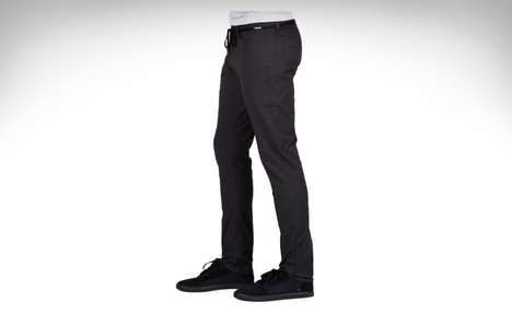 Stretchable Antimicrobial Clothing - The Volcom Stone Made Jeans and Chinos are Ready for Action