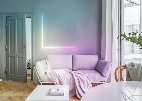 Ultra-Slim Wall Illuminator Strips
