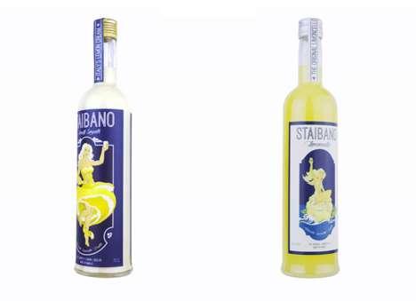 Amalfi Lemon Liqueurs