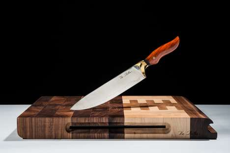 Handcrafted Artisan Chef Knives - The Vie Belles Cutlery is Made from Premium Materials