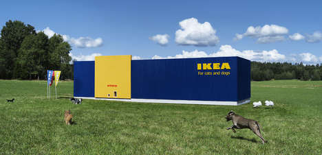 Design-Focused Pet Collections - IKEA's 'LURVIG' Pet Product Range Boasts Furniture and Accessories