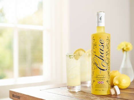 Lemon Marmalade Vodkas - Chase Distillery's Signature Vodka Blend Mimics a Popular Breakfast Staple