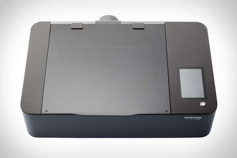 Intuitive Laser Design Printers - The Dremel DigiLab Laser Cutter Slices Wood, Leather and More