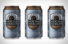 Coffee-Infused Oatmeal Stouts - The Firestone Walker Mocha Merlin Stout is Ideal for Autumn