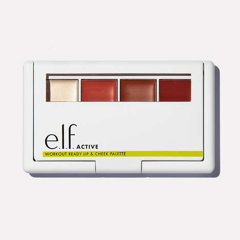 Sweat-Proof Makeup Collections - e.l.f. Cosmetics' 'Active' Line Has Pre- and Post-Workout Solutions