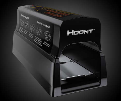 Humane Residential Rat Traps - The Hoont Electronic Rat Trap Works with Various Rodents