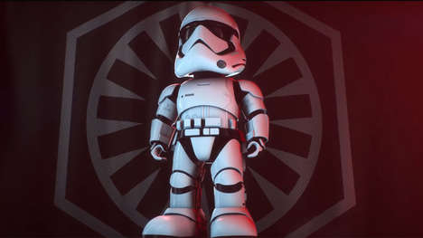 Sci-Fi Robot Toys - The First Order Stormtrooper by UBTECH is a Smart, App-Enabled Plaything