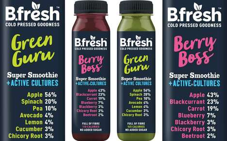 Probiotic Culture-Infused Smoothies