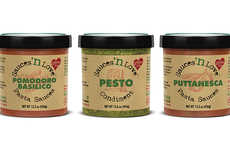 Freshly Prepared Sauce Condiments - The Sauces 'n Love Condiments are Idea for Italian Fare