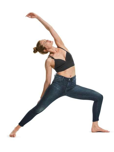 Flexible Athletic Denim