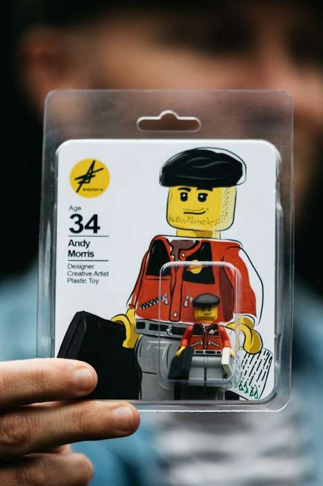 LEGO Figure Resumes - Andy Morris Creates an Unconventional CV That is Inspired by a Classic Toy