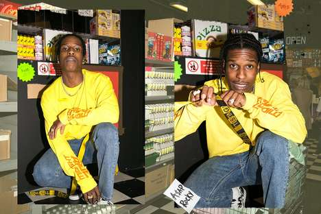 Rapper Bodega Pop-Ups - A$AP Rocky's AWGE x Selfridges Bodega is Inspired by the Star's Home Town