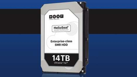 Helium Hard Drives - This High-Capacity Hard Drive Contains Helium For Reduced Internal Friction