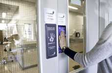 Anti-Bacterial Door Pads - These Door Pads Disinfect Themselves Every Time They're Pressed