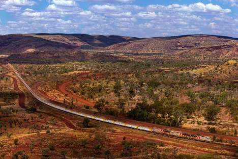 Autonomous Industrial Trains - These Australian Trains Are Designed to Transport Iron Ore