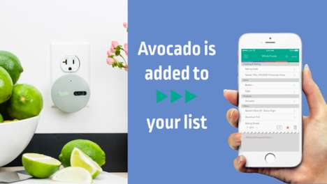 Barcode-Scanning Grocery Gadgets - The Lystr Device Creates Shopping Lists On Your Smartphone