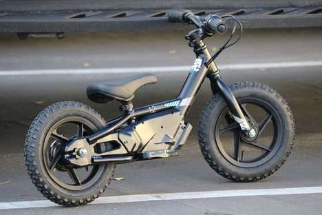 Featherweight Balance Bikes - The Bellcycle's Reduced Weight Helps Children Enjoy A Breezy Ride
