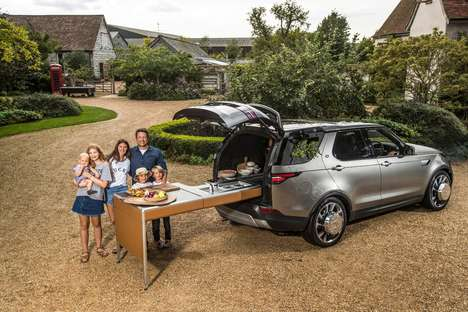 Kitchen-Incorporated SUVs