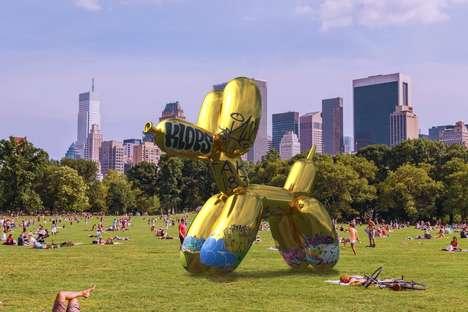 Digitally Defaced Sculptures
